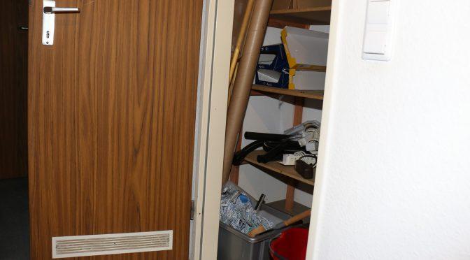 Monoblock Klimaanlage kühlt im Abstellraum