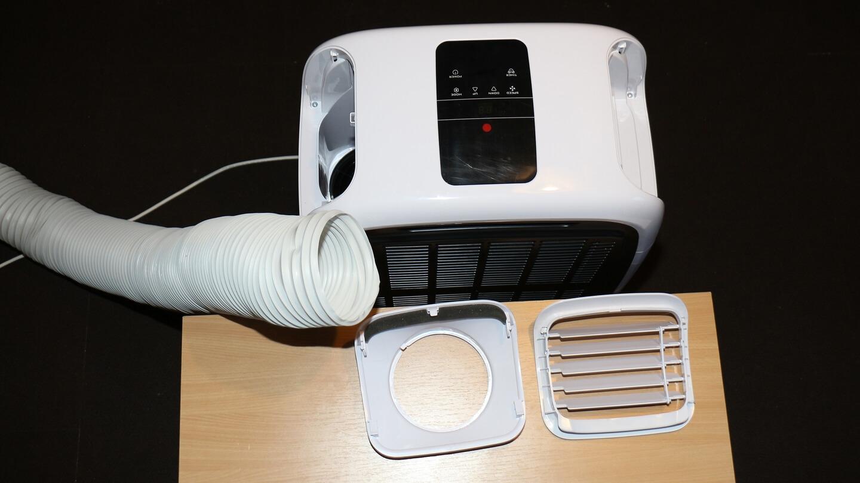 Wenn die mobile Klimaanlage die Außenluft mit der Innenluft mischt, verpufft viel Energie.