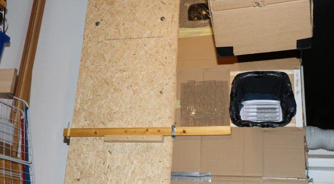 Fensterkasten für mobile Klimaanlage bauen