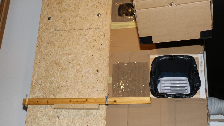 Hier werden die Luftströme getrennt, um die Kühlleistung der Klimaanlage zu optimieren.