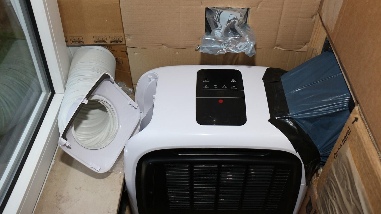 Wenn die Luftströme der Monoblock Klimaanlage getrennt werden, kühlt sie besser!