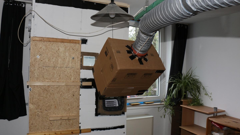 Klimaanlage richtig aufbauen – die Fensterkiste trennt für bessere Klimatisierung die Luftströme